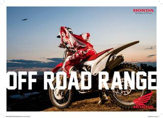 Honda Off Road Range 2014