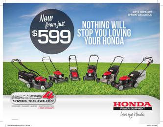 Honda Power Equipment 2014