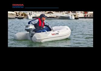 T20SE2 Slatted-deck Inflatable boat 2013