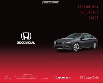 HondaLink Technology Reference Guide 2014