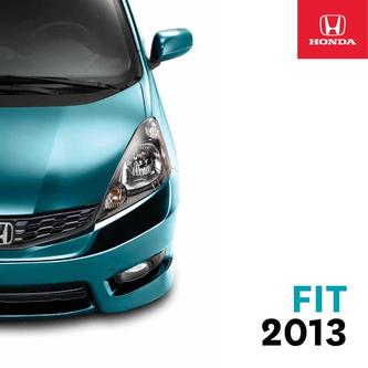 Honda Fit 2013 (French)