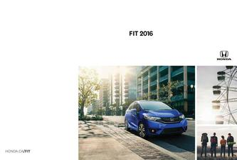 Honda Fit 2016 (French)