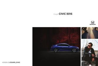 Honda Civic Coupe 2016 (French)