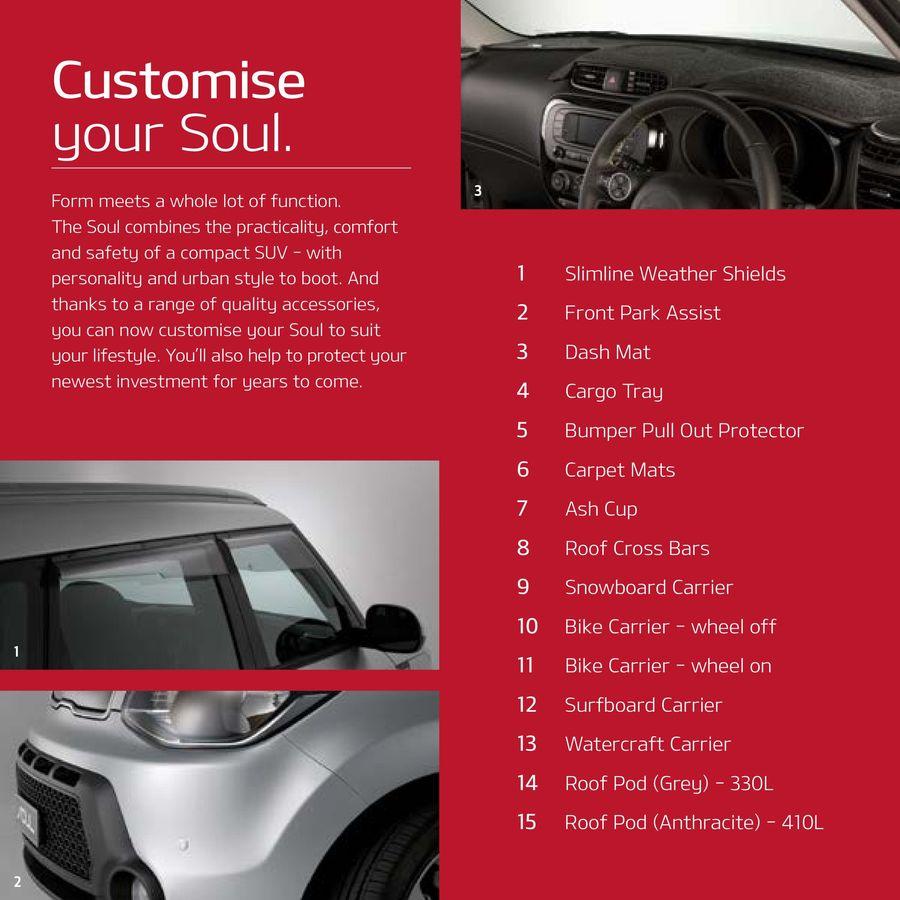 Kia Soul Accessories >> Kia Soul Accessories 2016 By Kia Australia