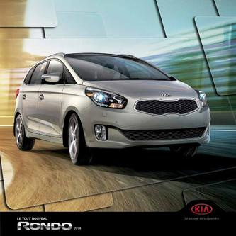 KIA Rondo 2013 (French)