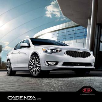 KIA Cadenza 2013 (French)