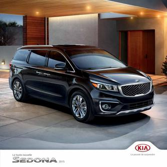 KIA Sedona 2014 (French)