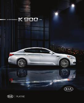 KIA K900 2014 (French)