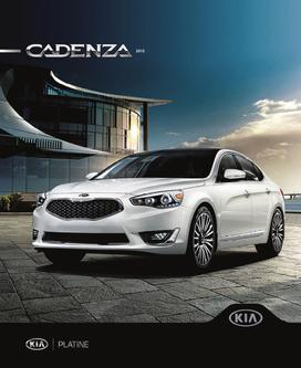 KIA Cadenza 2014 (French)