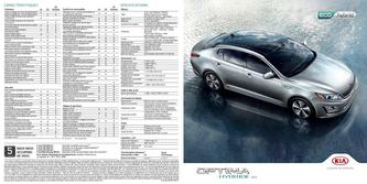 KIA Optima Hybrid 2014 (French)