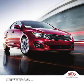 KIA Optima 2014 (French)