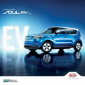 KIA Soul EV 2014 (French)