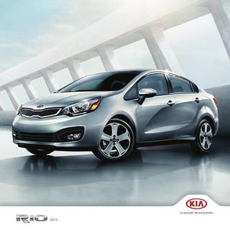 KIA Rio 5-Door 2014 (French)
