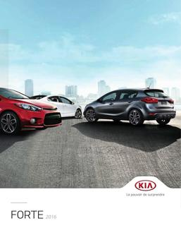 KIA Forte 2016 (French)
