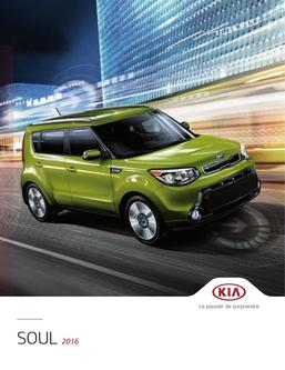 KIA Soul 2016 (French)