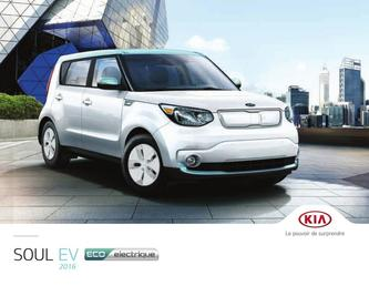 KIA Soul EV 2016 (French)