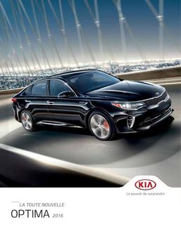 KIA Optima 2016 (French)