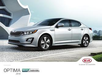 KIA Optima Hybrid 2016 (French)