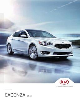 KIA Cadenza 2016 (French)