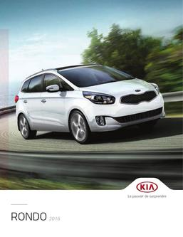 KIA Rondo 2016 (French)