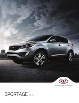 KIA Sportage 2016 (French)