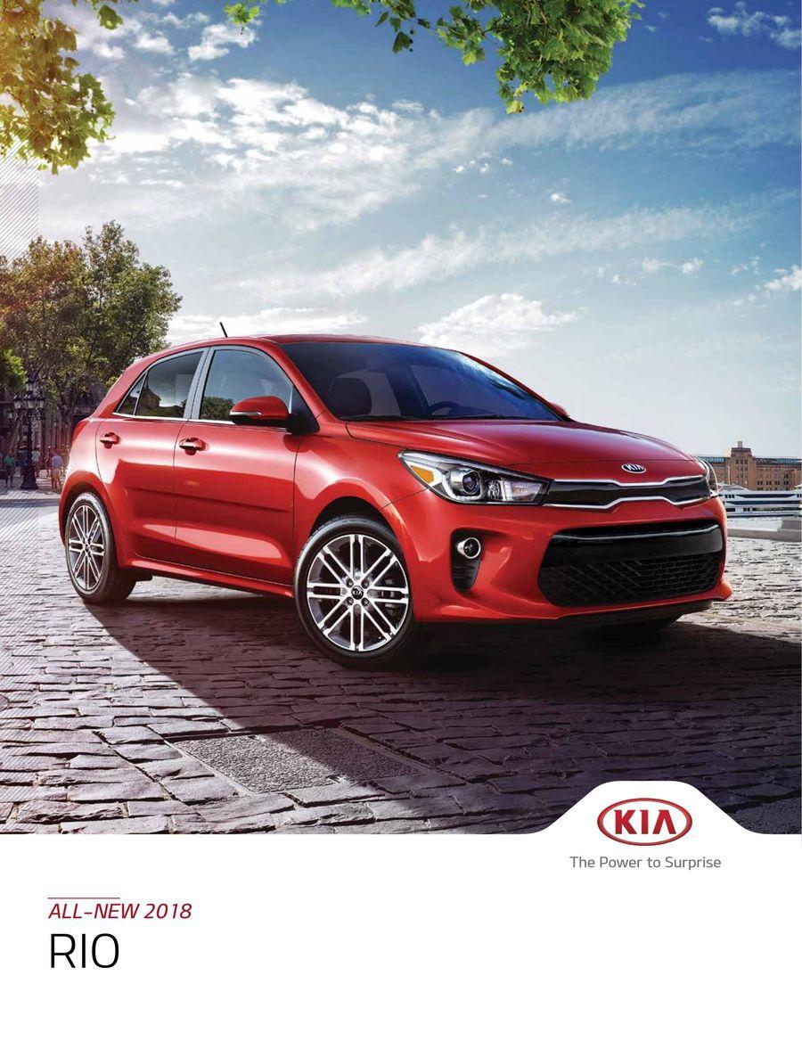 2018 KIA Rio by Kia Canada