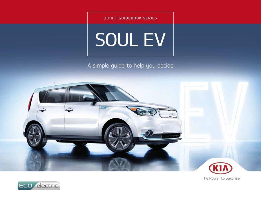 2019 KIA Soul EV by Kia Canada