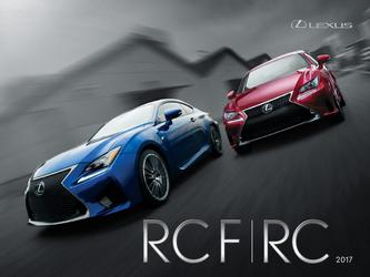 Lexus RCF/RC 2017 (French)