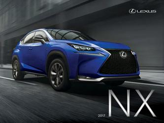 2017 Lexus NX Specifications