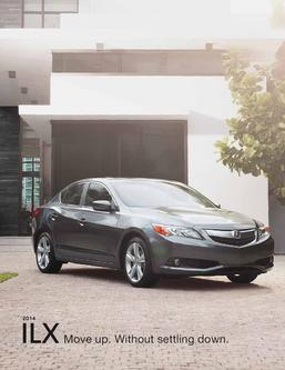 2014 Acura ILX Fact Sheet