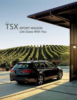 2014 Acura TSX Sport Wagon Fact Sheet