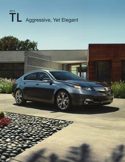 2014 Acura TL Fact Sheet