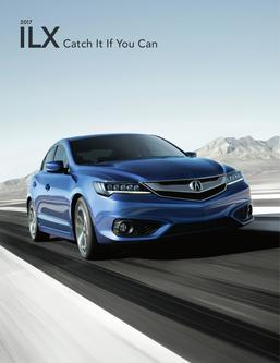 2017 Acura ILX Fact Sheet