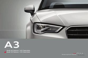 Audi A3/S3 Saloon | A3/S3 Cabriolet 2014