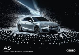 Audi A5 Coupé Australian Specifications 2017
