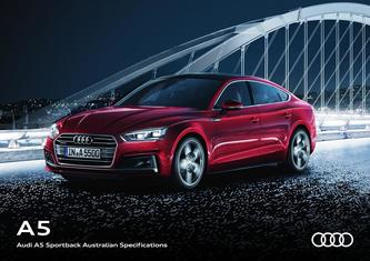 Audi A5 Sportback Australian Specifications 2017