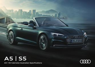 A5 | S5 Cabriolet Australian Specifications 2017