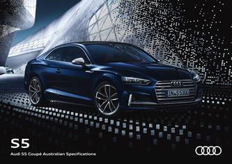 Audi S5 Coupé Australian Specifications 2017