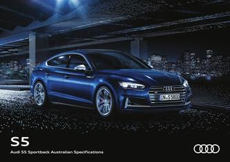 Audi S5 Sportback Australian Specifications 2017