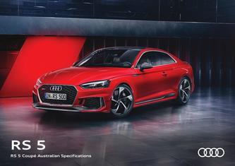 RS 5 Coupé Australian Specifications 2017