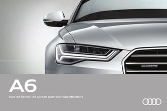 Audi A6 Sedan | A6 allroad Australian Specifications 2016