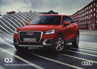 Audi Q2 Australian Specifications 2017