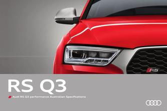 Audi RS Q3 performance Australian Specs 2016