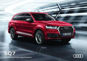 Audi SQ7 Australian Specifications 2017