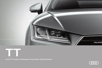 Audi TT Coupé and Roadster Australian Specifications 2016