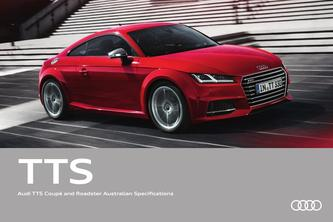 Audi TTS Coupé and Roadster Australian Specifications 2016