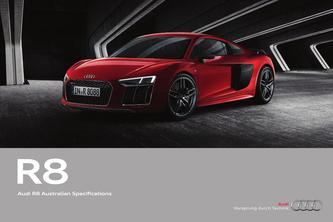 Audi R8 Australian Specifications 2016