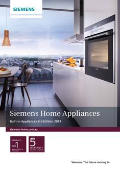 Siemens Home Appliances 2013