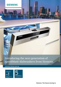 Siemens Dishwashing 2013