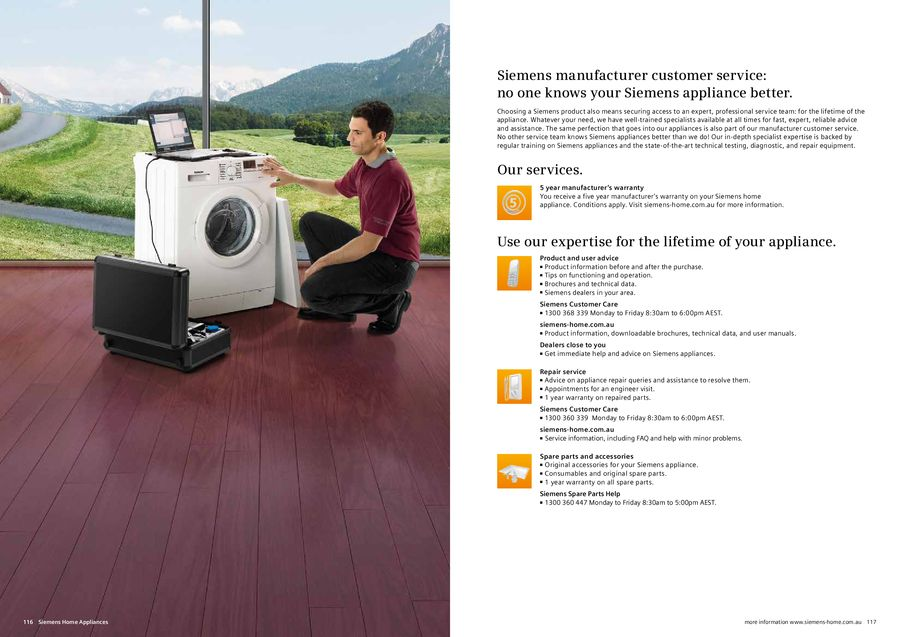 Page 56 of Siemens Home Appliances 2013